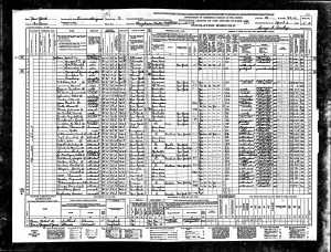 1940 United States Federal Census about Carl Whitaker